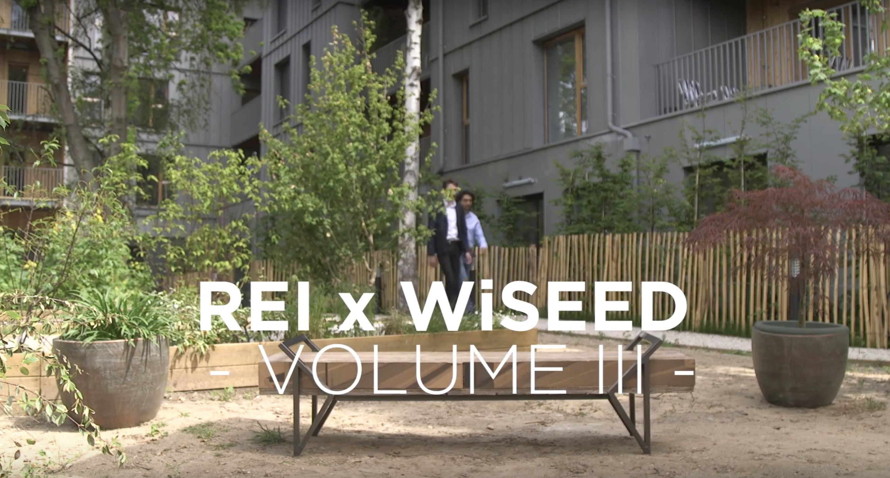 REI x Wiseed - Crowdfunding immobilier